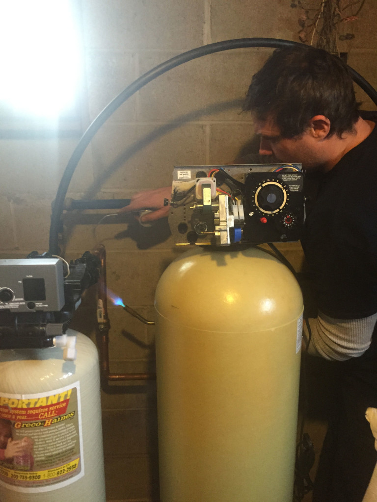 water filtration and acid neutralizer installation ct
