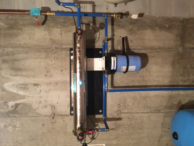 well system in basement